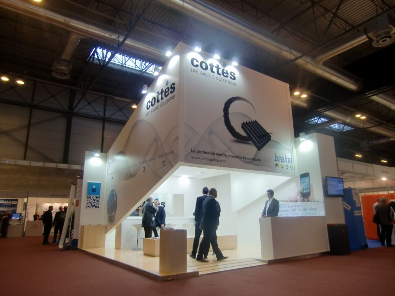 COTTES GROUP ( Feria SICUR 2012 ) Madrid