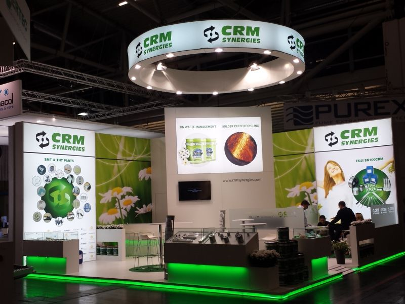 CRM SYNERGIES ( Feria PRODUCTRONICA 2015 ) Munich
