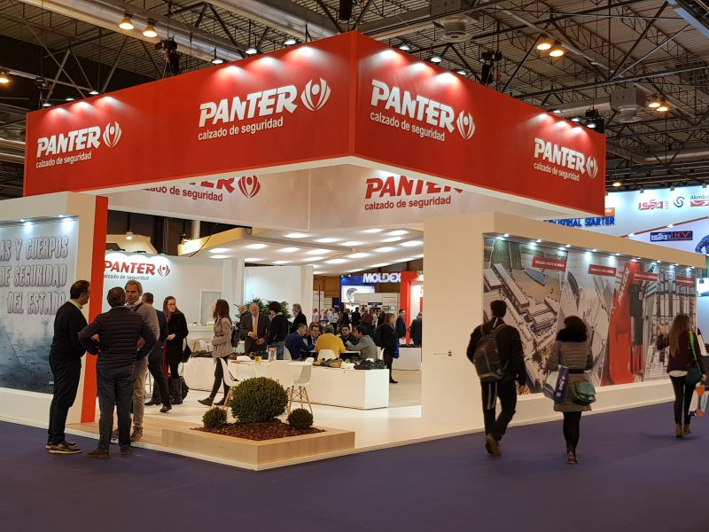 PANTER ( Feria SICUR 2018 ) MADRID