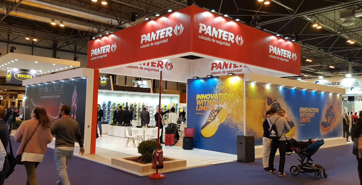 Stand PANTER Feria Seguridad SICUR 2018 Madrid